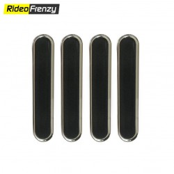 White Ultra Thin Transparent Car Door Guards