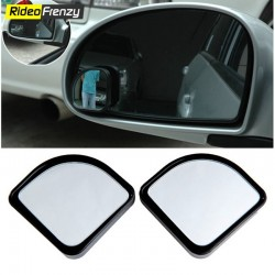 Drive Adjustable Ractangle Wide Angle Blind Spot Mirror