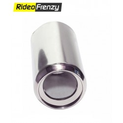 Red Chrome Heavy Duty Exhaust Muffler