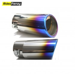 Zig Zag Chrome Heavy Duty Exhaust Muffler