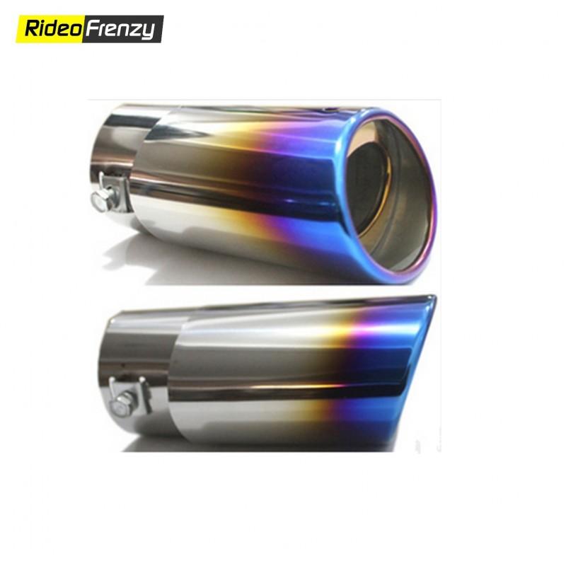 Zig Zag Chrome Heavy Duty Exhaust Muffler