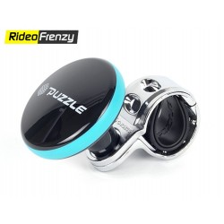 Puzzle Black Power Steering Knob