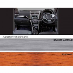 Maruti Celerio Wooden Dashboard Trim Kit-Rosewood
