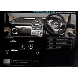 Hyundai Eon Rosewood Wooden Dashboard Trim Kit
