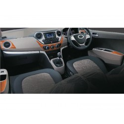 Buy Hyundai Grand I10 wooden dashboard trim kit online at low prices-RideoFrenzy