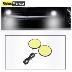 Buy Super Bright 12V LED Daytime Running Light DRL & Fog Lamp at low prices-RideoFrenzy