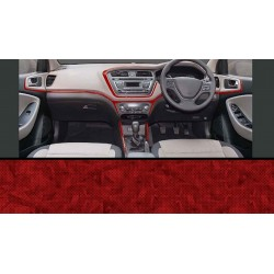 Hyundai Elite I20 Rosewood Wooden Dashboard Trim Kit