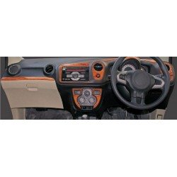 Buy Honda Brio/Amaze wooden dashboard trim kit online at low prices-RideoFrenzy