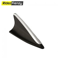 BLACK DECORATIVE SHARK FIN ANTENNA
