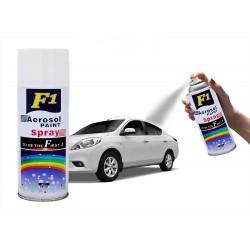 F1 Shiny Silver Aerosol Spray Paint