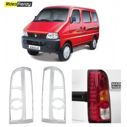 Buy Maruti Eeco Chrome Tail Light Cover online at low prices-RideoFrenzy