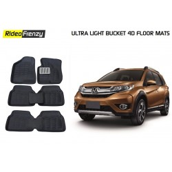 Ultra Light Bucket 4D Floor Mats for Honda BRV