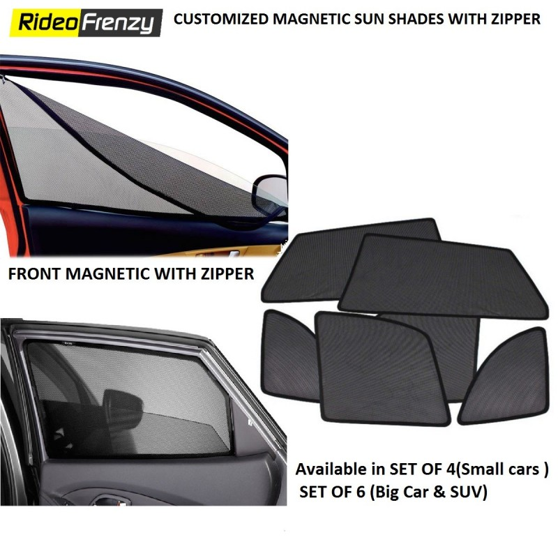 Customized Magnetic Sun Shades with Zipper