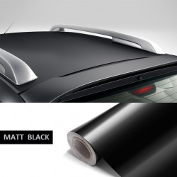 Premium Quality Matt Black Roof Wrap Sheet