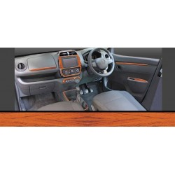 Renault Kwid Dashboard Trims Kit - Rosewood Colour