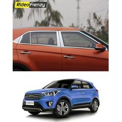 Hyundai Creta Stainless Steel Chrome Window Trim