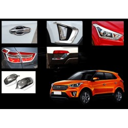 Hyundai Creta Chrome Combo Set of 6