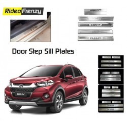 Buy Honda WRV Door Stainless Steel Sill Plate online at low prices-RideoFrenzy