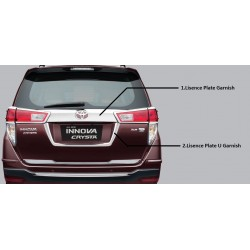 Innova Crysta Chrome Rear Garnish