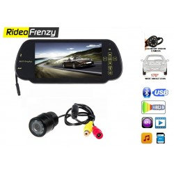 7 Inch Full HD Monitor with Rear View Night Vision Camera