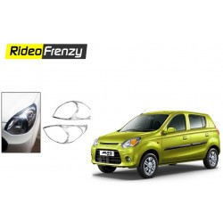 Buy Maruti Alto 800 Chrome Head Light Cover at low prices-RideoFrenzy