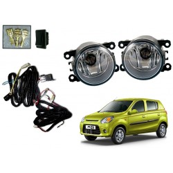 Buy Maruti Alto 800 Fog Lamp Kit with Wiring & switch at low prices-Rideofrenzy