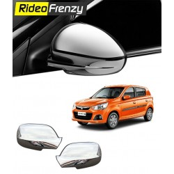 Triple Layered New Alto K10 Chrome Mirror Covers