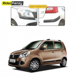 Buy WagonR Original Matt Black Bumper Protectors online at low prices-RideoFrenzy