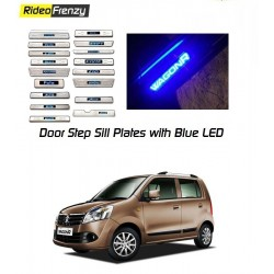 New WagonR Door Sill Plate with blue LED