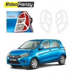 Maruti Celerio Chrome Tail Light Covers