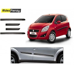 Buy Maruti Ritz Black Chrome Side beading online at low prices-Rideofrenzy