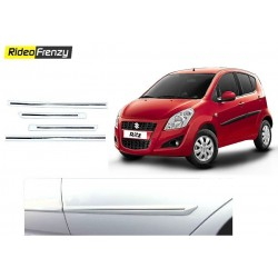 Buy Maruti Ritz White Chrome Side beading at low prices-Rideofrenzy