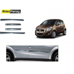 Buy Maruti Ritz Silver Chrome Side beading online at low prices-Rideofrenzy