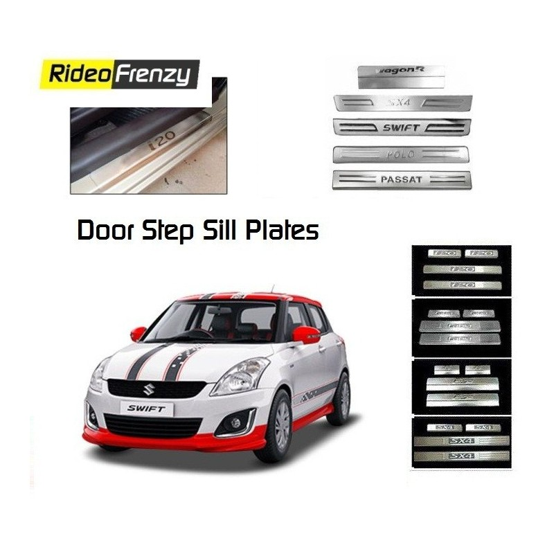 Door Stainless Steel Sill Plate for Swift New Model