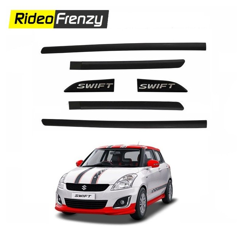 Buy Maruti Swift Original Black Side Beading online at low prices-Rideofrenzy