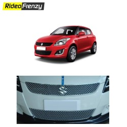 Maruti Swift Front Chrome Grill Covers