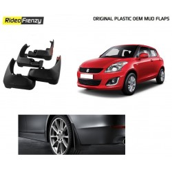 Buy Plastic OEM Maruti Swift Mud Flaps at low prices-RideoFrenzy