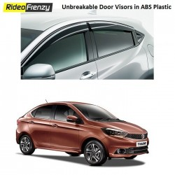 Buy Unbreakable Tata Tigor Door Visors in ABS Plastic