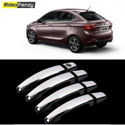 Buy Door Chrome Catch/Handle Cover for Tata Tigor at low prices-RideoFrenzy