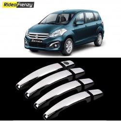 Buy Premium Maruti Ertiga Door Chrome Handle Covers at low prices-RideoFrenzy
