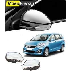 Buy Triple Layered Maruti Ertiga Chrome Mirror Covers at low prices-RideoFrenzy