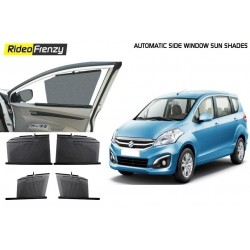 Buy Maruti Ertiga Automatic Side Window Sun Shades at low prices-RideoFrenzy