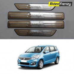 Buy Original OEM Maruti Ertiga Door Stainless Steel Sill Plate at low prices-RideoFrenzy