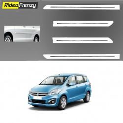 Buy Original OEM Maruti Ertiga White Chrome Side beading at low prices-RideoFrenzy