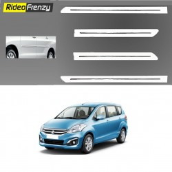 Buy Original OEM Maruti Ertiga White Chrome Side beading at low prices-RideoFrenzy