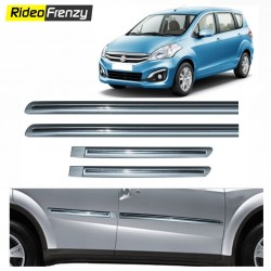 Buy Original OEM Maruti Ertiga Silver Chrome Side beading at low prices-RideoFrenzy