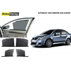 Buy Maruti SX4 Automatic Side Window Sun Shades at low prices-RideoFrenzy