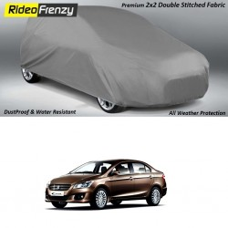 Buy Heavy Duty Maruti Ciaz Body Cover at low prices-RideoFrenzy