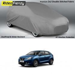 Buy Heavy Duty Maruti Baleno Body Cover-Gray Matty at low prices-RideoFrenzy