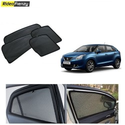 Buy Maruti New Baleno Magnetic Car Window Sunshade at low prices-RideoFrenzy